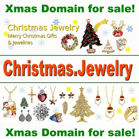 Domain christmas.jewelry for sale!