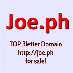 joe.ph Domain for sale